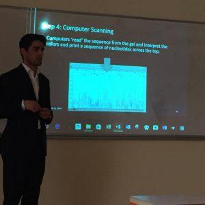 عرض تقديمي حول دور ال (بى سي ار)في تسلسل الحمض النووي