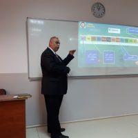 (AES) سيمنار حول نظام الغيابات الالكتروني