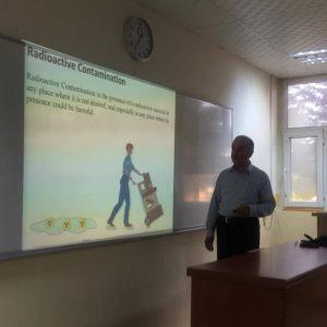 Seminar on Biological effect of radioactive contamination