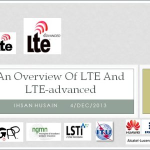 An Overview of LTE and LTE-Advanced