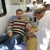 Biology Department – Blood Donation Campaign (Monday Report)
