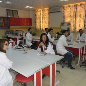Biology students started their second course