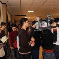 سفرة علمية لطلبة قسم الاعلام بمناسبة اليوم العالمي للاذاعة