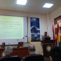 سمنار  إشكاليات التعرض للفضائيات العراقية الناطقة باللغة العربية لدى الطلبة الجامعيين في إقليم كردستان