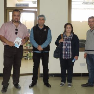 Scientific trip to Pepsi soft drink factory – Biology department