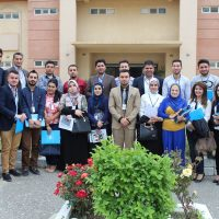 Visit students in the  International Relations and Diplomacy Department at Cihan University to the headquarters of the UN mission in Erbil