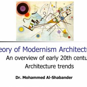 Seminar -Theory of Modernism Architecture-