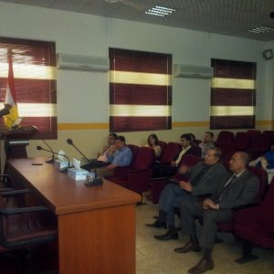 Seminar by Prof.Dr. Sabih Hashim Alzuhairy