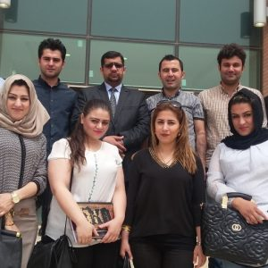 Visiting Erbil Appeal court