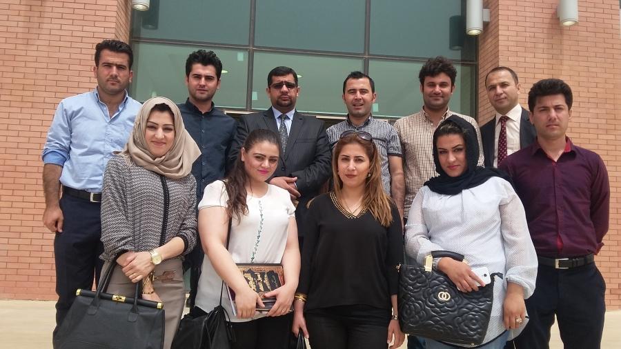 Visiting Erbil Appeal court