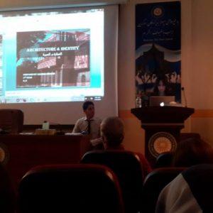 Architecture & Identity – a seminar by Hameda Ibrahem