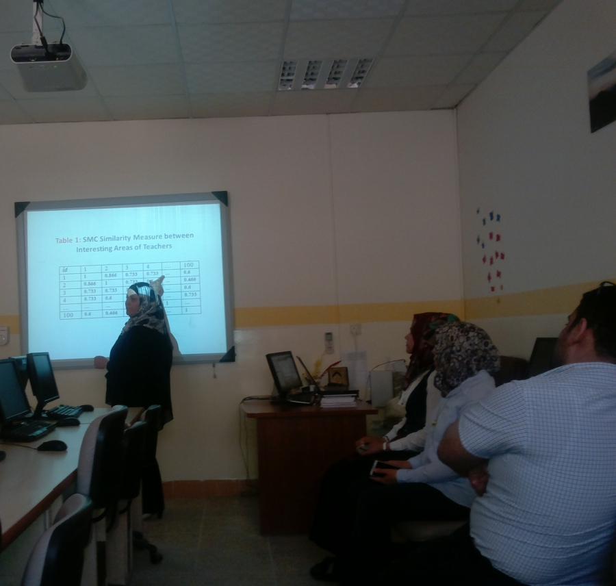 A Seminar by Dr. Reem J. Ismail to Develop Research Papers
