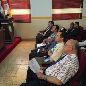لقاء علمي مع قسم الهندسة الكهربائية / جامعة صلاح الدين