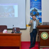 Mohammed Bajalan spoke about Microsoft Academic program