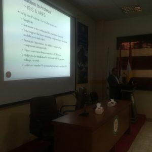 A seminar by Assistant Professor Dr. Jafar Muhammad