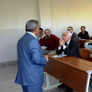 محاضرة ألقيت من قبل الدكتور عبود محمد رئيس قسم المحاسبة