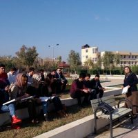 open air lecture