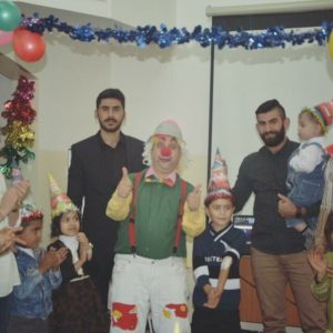 Birthday event for kids with cancer