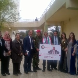 Cihan University-Erbil president Launched the English Speaking Zone