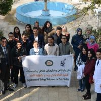 Biology Department welcome first year student