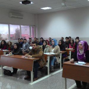 قسم المحاسبة يرحب بطلاب المرحلة الأولى