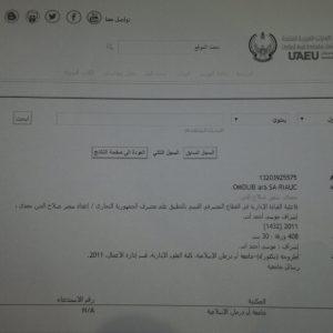 Publications of Dr. Samir Salahaldeen