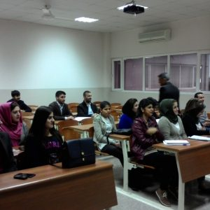 First day in class