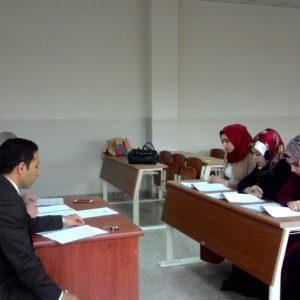 مناقشة مشاريع التخرج – قسم المحاسبة