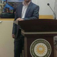 عرض تقديمي للأستاذ المساعد دلزار بكر حول اداء درجة الأسفلت
