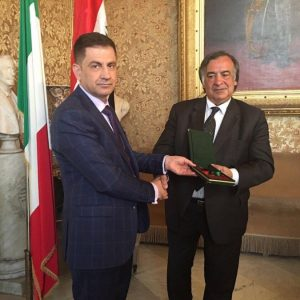 Mayor of Palermo Visit