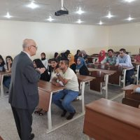 The first day of study has started in Business Administration Department