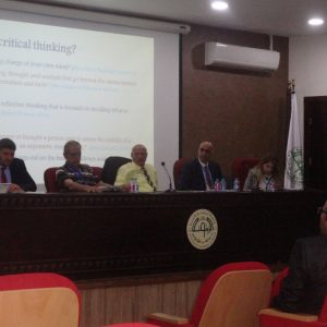 Cihan University participates in The 6th International Conference in Jordan