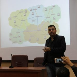 New Internet Network Design Seminar in the CCE Department
