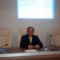 Dr. Samir Salah presents a new training course