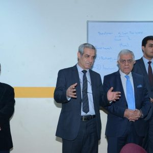 Dr Nawzad and Dr Fouad meets the Biology Department new students