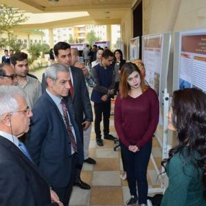 Small projects exhibition for the department of Biology students