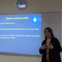 workshop on coronary heart disease among diabetes patients