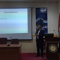 Workshop about ISO 9001:2015 Quality Management System