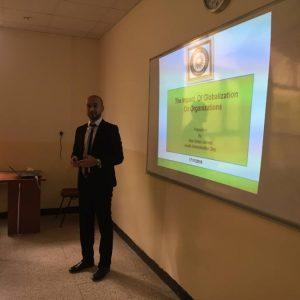 Symposium on The impact of globalization on organization