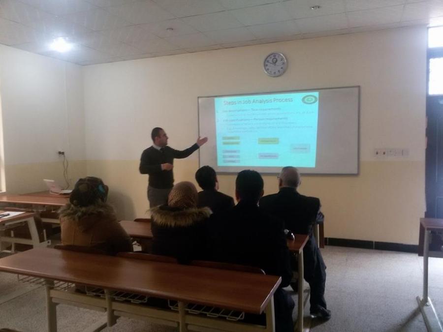 Symposium on Human Resource Management job Analysis