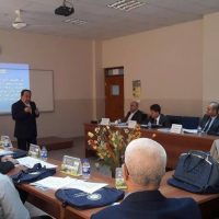Dr. Samir Salah presents a new training course