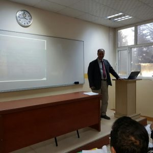 A lecture  entitled ((Vienna Convention on Consular Relations of 1963))