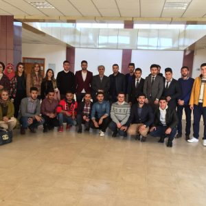 3rd year communication department visiting to salahaldeen university
