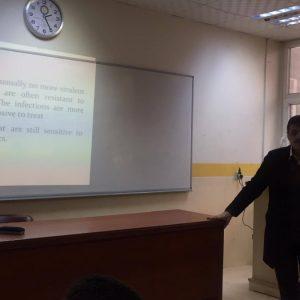 workshop on Methicillin resistant Staphylococcus aureus (MRSA)