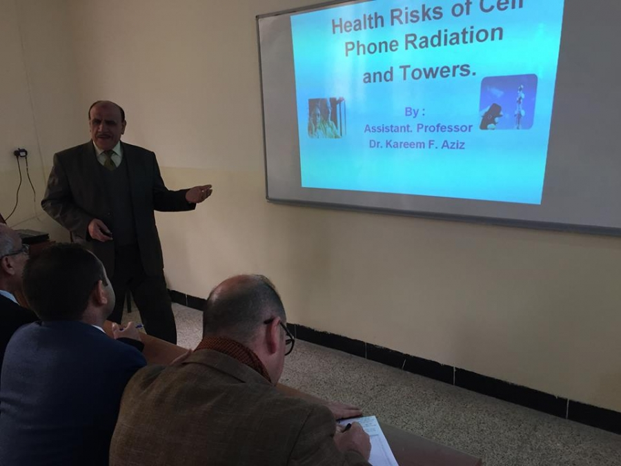 Symposium about health risks of cell phone radiation and