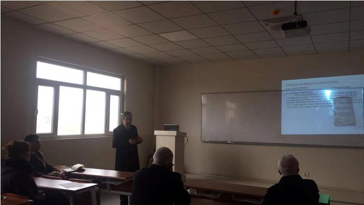 Seminar Presentation – Mr. Binyad Maruf Khaznadar