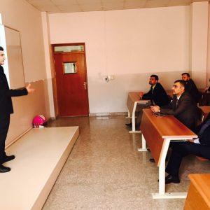 A seminar presented by Mr Muath Al-Abood within Nawroz Period