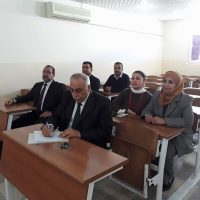 Symposium in Business Admin. Dept. by Lecturer Dr. Aram Massoudi