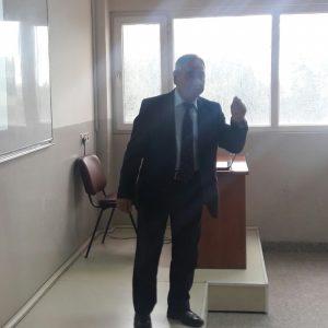 القاء حلقة دراسية من قبل الدكتور عبود المشهداني