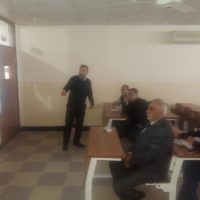 Symposium in Business Admin. Dept. by Asst. Lec. Maher Nawkhas